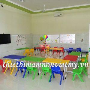 Ban Hinh Tam Giac Mam Non Vm0219 3