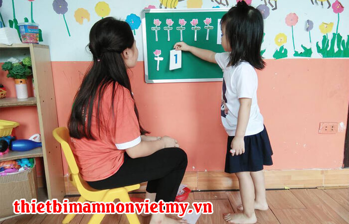 Phuong Phap Day Tre Mam Non Lam Quen Voi Toan 4