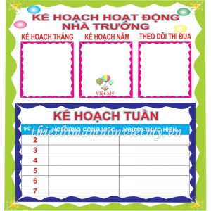 Bang Khhd Nha Truong Vm6833