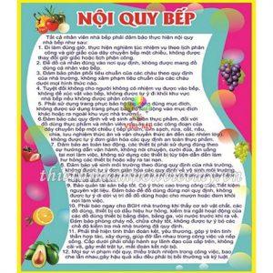 Bang Noi Qui Bep Vm6830