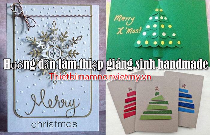Huong Dan Lam Thiep Giang Sinh Handmade 1 1