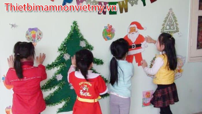 Huong Dan Trang Tri Noel Lop Hoc Mam Non Dep Nhat 8