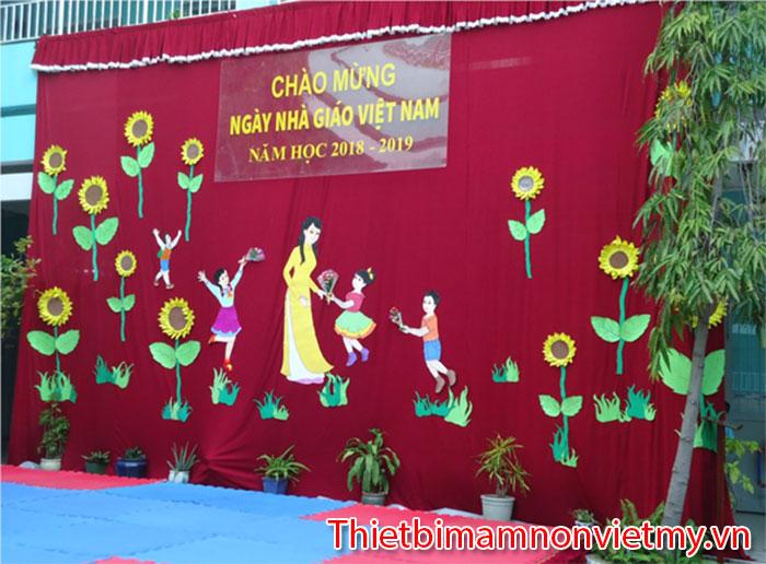 Trang Tri Lop Mam Non 20 11 12