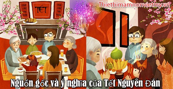 Nguon Goc Va Y Nghia Cua Tet Nguyen Dan 1