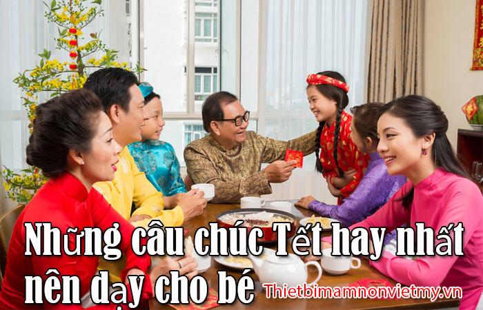 Nhung Cau Chuc Tet Hay Nhat Nen Day Cho Be 1