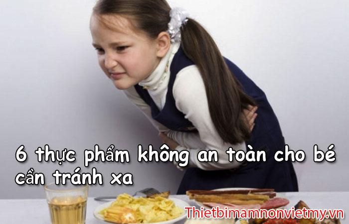 6 Thuc Pham Khong An Toan Cho Be 1