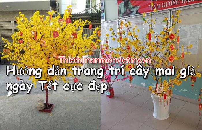 Huong Dan Trang Tri Cay Mai Gia Ngay Tet Cuc Dep 1