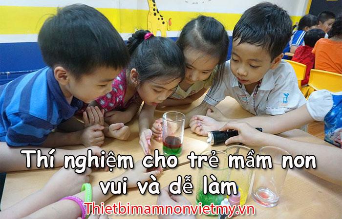 Thi Nghiem Cho Tre Mam Non 1