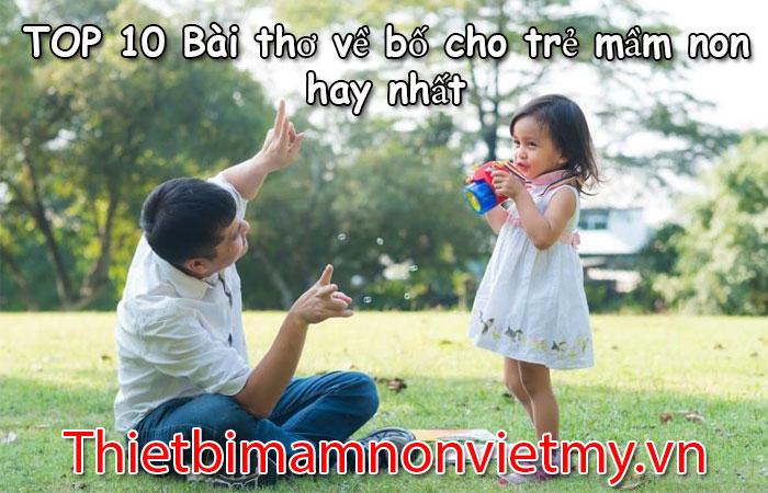 Top 10 Bai Tho Ve Bo Cho Tre Mam Non Hay Nhat 1