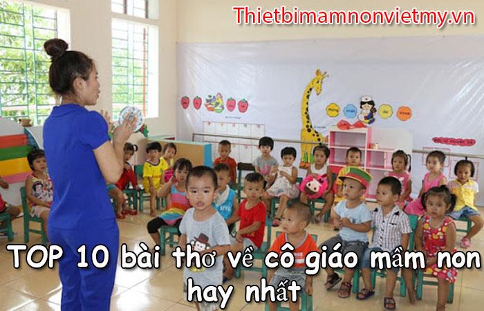 Top 10 Bai Tho Ve Co Giao Mam Non Hay Nhat 1 2