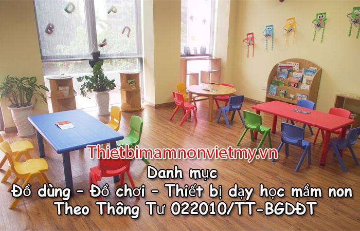 Danh Muc Do Dung Do Choi Thiet Bi Day Hoc Mam Non Theo Thong Tu 02 1 1