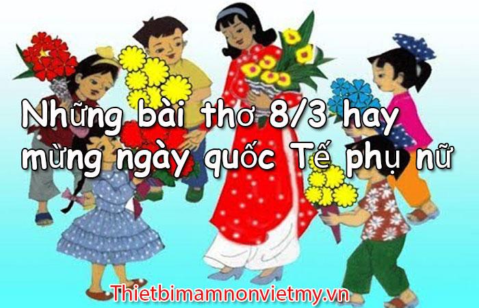 Nhung Bai Tho 8 Thang 3 Hay Mung Ngay Quoc Te Phu Nu 1