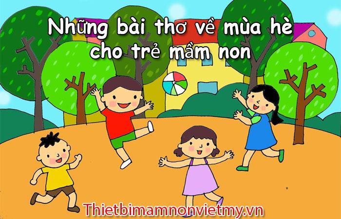 Nhung Bai Tho Ve Mua He Cho Tre Mam Non Hay Nhat 1