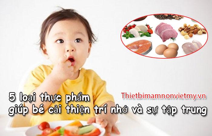 5 Loai Thuc Pham Giup Be Cai Thien Tri Nho Va Su Tap Trung 1