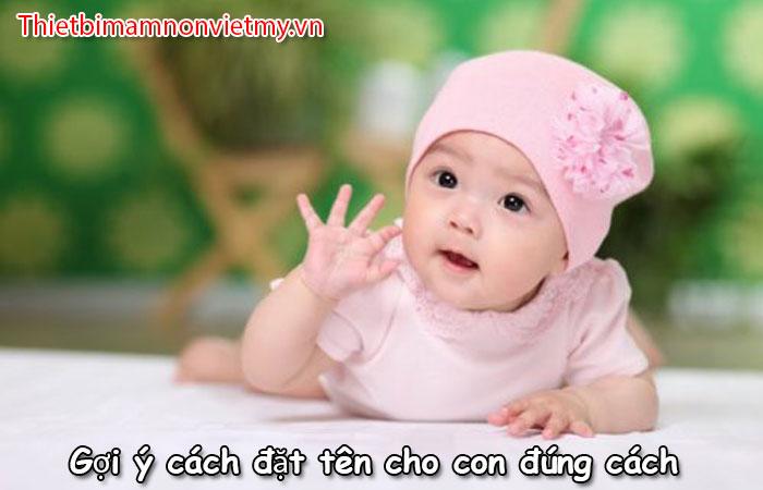 Goi Y Cach Dat Ten Cho Con Dung Cach 1 1