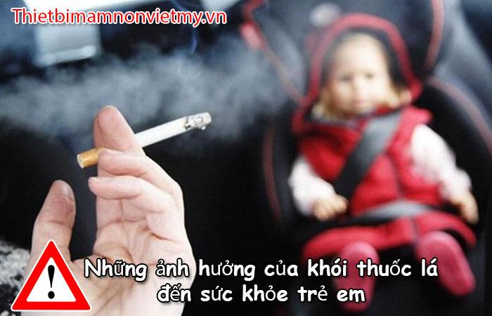 Nhung Anh Huong Cua Khoi Thuoc La Den Suc Khoe Tre Em 1