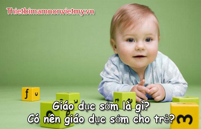 Giao Duc Som La Gi Co Nen Giao Duc Som Cho Tre 1 1