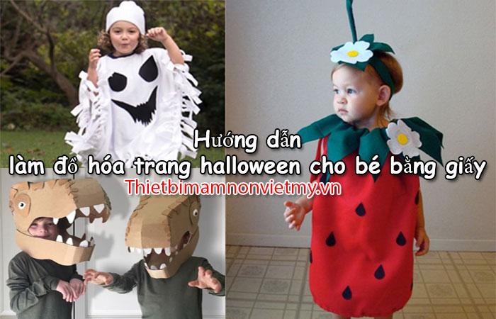 Huong Dan Lam Do Hoa Trang Halloween Cho Be Bang Giay Don Gian 1