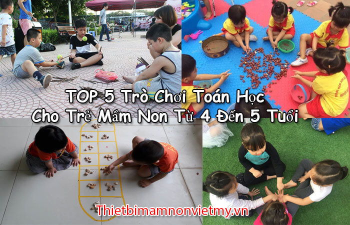 Top 5 Tro Choi Toan Hoc Cho Tre Mam Non Tu 4 Den 5 Tuoi A